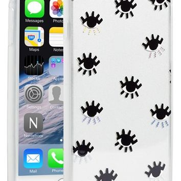 Sonix 'Clear Evil Eye' iPhone 6 Plus Case - Black