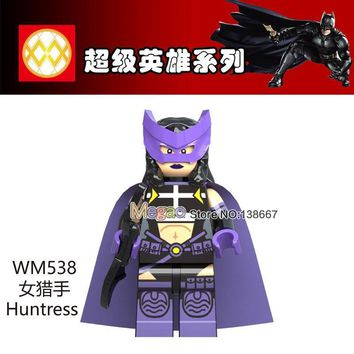 Deadpool Dead pool Taco Super Hero Huntress WM538 Cow Batman Leopard Batman  man Stripe Batman Legoing Building Blocks Toys for Children Gifts AT_70_6