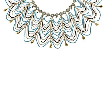 Joy Beaded Bib Choker