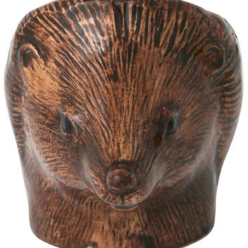 Hedgehog Ceramic Egg Cup