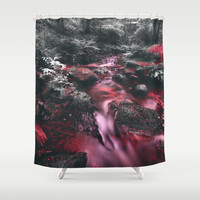 Dont go where you dont belong Shower Curtain by HappyMelvin