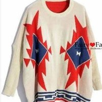 Ladies Polyamide Bat-wing Sweater One Size YL941471 from efoxcity