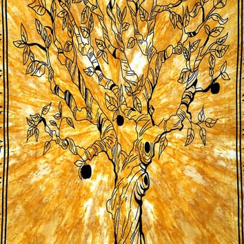 Tiwn Tree Of Life,Tie Dye Hippie Wall Hanging Indian Wall Tapestrys Beach Throw Bedspread Bohemian bedding Picnic Beach Sheet Coverlet