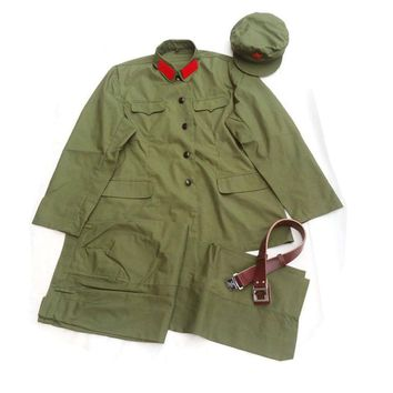CHINESE ARMY PLA COMMUNIST PARTY TYPE 65 CULTURAL REVOLUTION ERA MILITARY UNIFORM  - World military Store