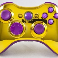 Gold/Purple Xbox 360 Modded Controller (Rapid Fire) COD MW3, Black Ops 2, MW2, MOD GAMEPAD:Amazon:Video Games