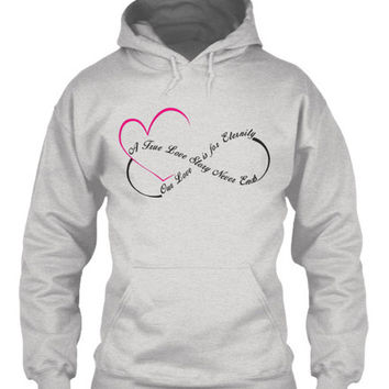 Love for Eternity Pullover Hoodie
