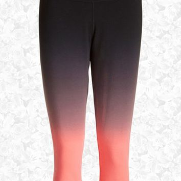 Women's Nike 'Legend 2.0 Sunset Tight' Dri-FIT Training Capri Leggings,