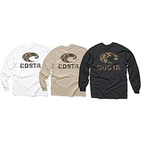 Costa Del Mar Men's Realtree Max 4 Camo L/S T Shirt