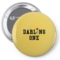 darling one Pin-back button