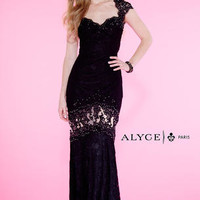 Alyce Prom 6398 Alyce Paris Prom Lillian's Prom Boutique