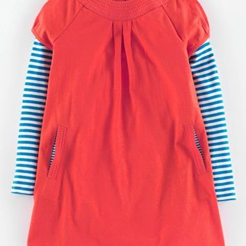 Girl's Mini Boden 'Easy Jersey' Dress,