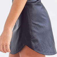 BB Dakota High-Rise Leather Mini Skirt | Urban Outfitters