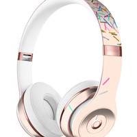 Multicolor Birth Sprinkles Over Tan Full-Body Skin Kit for the Beats by Dre Solo 3 Wireless Headphones