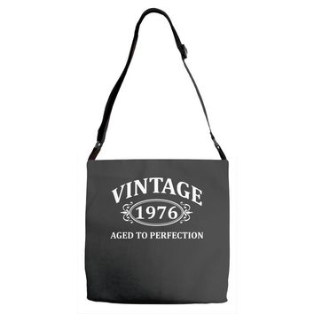 Vintage 1976 Aged to Perfection Adjustable Strap Totes