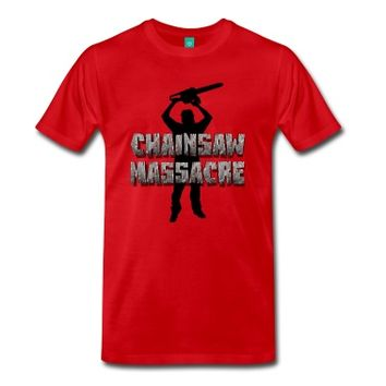 Chainsaw Massacre - Horror / Splatter / Killer T-Shirt