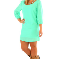 I Gotta Feeling Dress: Mint