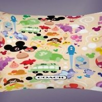 Disney Cute All Character Best Pillow Case 16 x 24 20 x 26 2 Side Cover