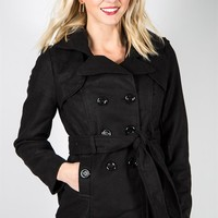 Pretty Peacoat - Black
