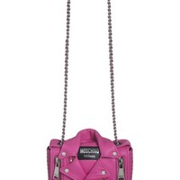 Women's Moschino 'Biker Jacket' Crossbody Bag