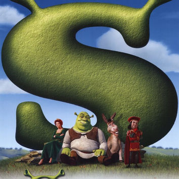 Shrek 11x17 Movie Poster (2001)
