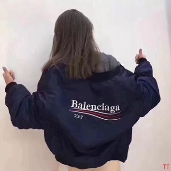 LMFON Balenciaga Women Fashion Cardigan Jacket Coat