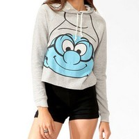 Brainy Smurf Hoodie Pullover