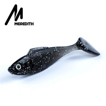 Meredith Trout 10pcs/lot Fishing Tackle Bait 10 Colors Fishing Soft Lures Mermaid Tail 9g/90mm Free Shipping JX61-09-10