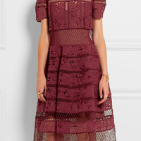 Zimmermann - Guipure lace dress