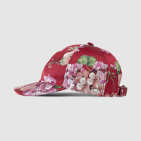 Gucci Blooms silk baseball hat
