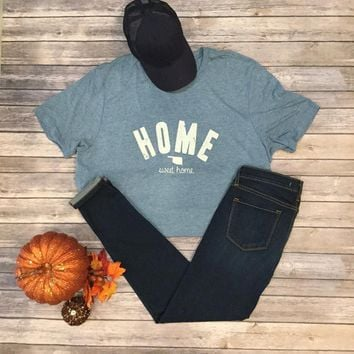 Denim Oklahoma Home T-shirt