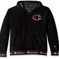 Champion LIFE Men's Sherpa Pullover Hoodie