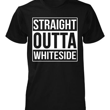 Straight Outta Whiteside County. Cool Gift - Unisex Tshirt
