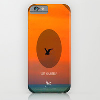 Set yourself Free iPhone & iPod Case by Laura Santeler