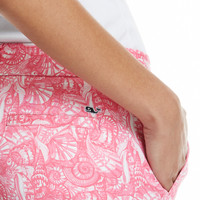 Shells Allover Print Shorts