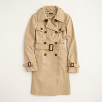 Factory belted trench coat