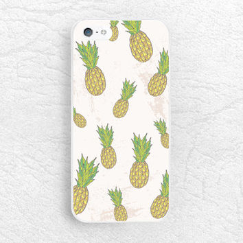Cute Pineapple fruit phone case for iPhone 6, Sony z3 compact, LG g3 nexus 5, HTC one M9 m8, Moto X2 Moto G2, Samsung S6 edge, Nokia -P34