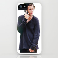 Harry Styles iPhone & iPod Case by Christa Morgan ☽