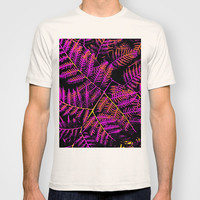 Purple, Orange & Yellow Bracken T-shirt by Moonshine Paradise