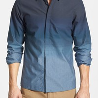 Men's Ben Sherman 'Graduated Tonic' Ombre Mod Fit Woven Shirt