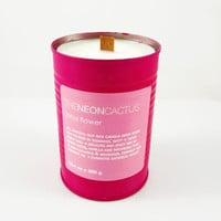 CANDLE IN A CAN - Lotus Flower natural soy wax candle hand made & poured in Tasmania