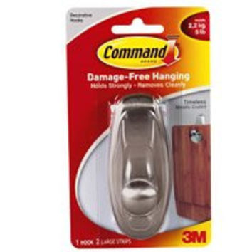 Command Timeless Metallic Coated Hook