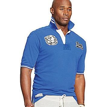 Polo Ralph Lauren Big & Tall Custom-Fit Bulldog Polo Shirt - Rugby Roy