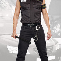Dirty Cop Officer Ed Banger Costume