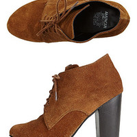 High Heel Desert Boot