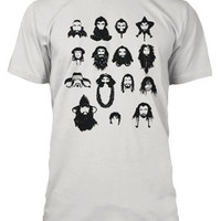 Epic Beards from The Hobbit T-Shirt - White,