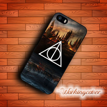 Coque Harry Potter Deathly Hallows New Arrival Case for iPhone 7 6S 6 5S SE 5 5C 4S 4 Plus Case Cover for iPod Touch 6 5 Case.