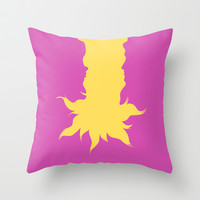 Tangled Throw Pillow by Citron Vert | Society6