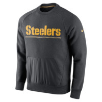 Nike Hybrid Fleece (NFL Steelers) Men's Sweatshirt
