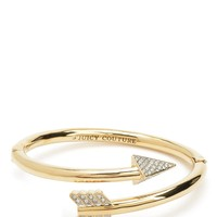 Gold Pave Arrow Bangle by Juicy Couture, O/S