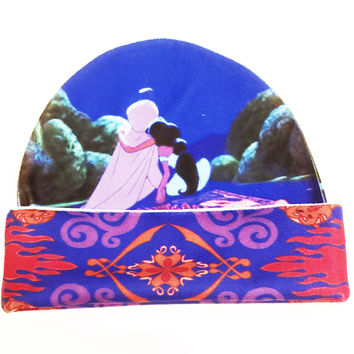 Aladdin and Jasmine Disney Beanie | Magic Carpet Hat | Disney Couple